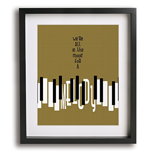 Rock Billy Songs - Piano Man | Billy Joel inspired song lyric typography art print music poster - unique Father's Day gift idea