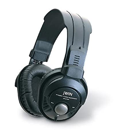 Jwin Jhv100B Closed-Type Pro Digital Studio Monitor Headphones