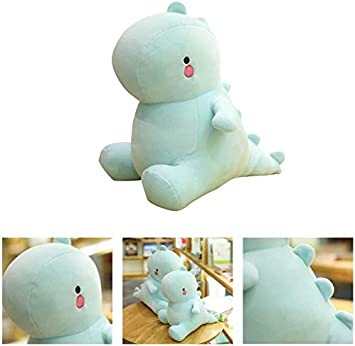 Binory New Cute Dinosaur Plush Toys Adorable Soft T-Rex Stuffed Animals Dolls Toys Kids Plushies and Birthday Gifts Baby Toy Sleeping Comfort Pillow Toddlers Perfect Present