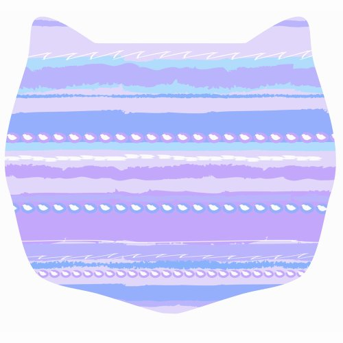 Cats Rule Small Space Mat product image