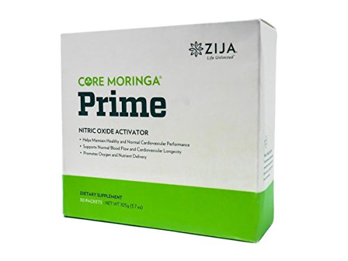 Zija Prime Nitric Oxide Activator - Improve Circulation and Blood Flow - Muscle Growth, Vascularity & Energy - 30 Packets