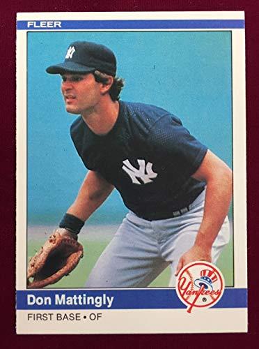 1984 Fleer DON MATTINGLY Rookie Card -