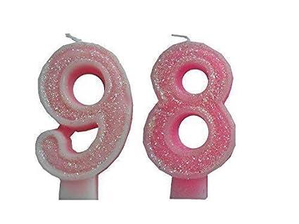 2 Piezas Vela de Cumpleaños con el
