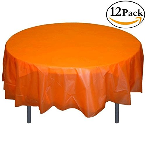 Exquisite 12 Pack Premium Plastic Tablecloth product image