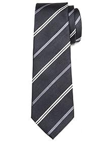 Origin Ties Men's Fashion Thin Striped Silk Tie