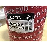 RiData DVD-R 4.7GB - 100-Pack (907WFDRRDA009)