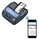 Bluetooth Label Printer - Thermal Printers, 80mm Bluetooth Printer Thermal Android iOS PC Label Printer with Rechargeable Battery for Small Business,Supermarket, Retail and More (80MM Thermal Printer)