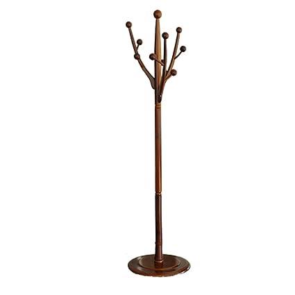 Appendiabiti FEIFEI Appendini terra a forma di albero in legno ...