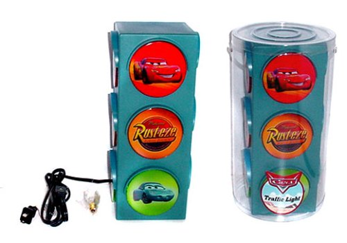 Amazon disneypixar cars traffic light lamp home improvement mozeypictures Image collections