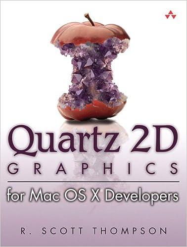 Book Quartz 2D Graphics for Mac OS X Developers