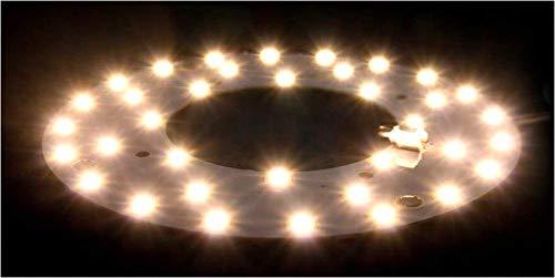 Plafoniere Luce Calda : Modulo circolina led ricambio neon corona per plafoniera luce