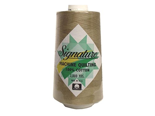 Signature Thread Signature 100% Ctn Quilt Thread 3000yd Wheat Cotton 3000