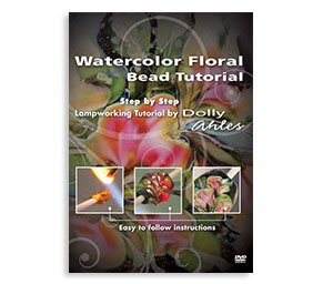 Watercolor Floral Bead Tutorial By Dolly Ahles
