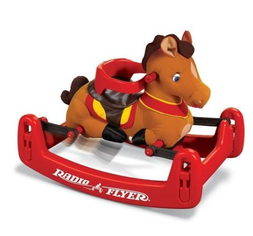 Radio Flyer Classic Rock and Bounce Pony 351 Classic Rock