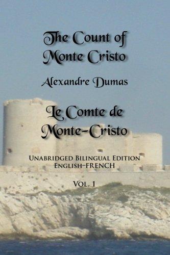 The Count Of Monte Cristo: Unabridged Bilingual Edition: English ...