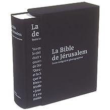 Bible de Jérusalem: Texte intégral et photographies