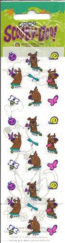 Scooby Doo Butterflies and Bugs Mini Scrapbook Stickers (PSDOY1)