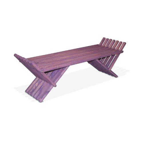 GloDea French Bench X90, Purple Berry