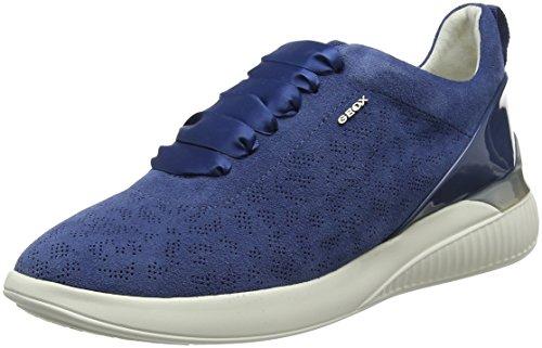 Zapatillas D Azul para C Mujer Denim Geox Theragon ztFwpqnvS