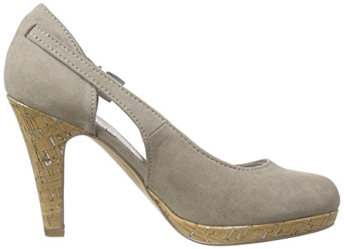 Marco Tozzi Beige Taupe Tacones 22442 341 Mujer Beige rzqrd