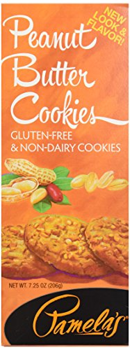 Pamela's Cookies, Peanut Butter, 7.25 oz