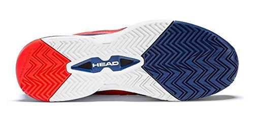 Head Men's Revolt Pro 2.5 Tennis Shoes (Blue/Flame Orange) (11 D(M) US)