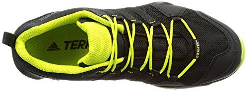 adidas Terrex Ax2r GTX, Stivali da Escursionismo Uomo Nero (Negbas/Negbas/Seamso)