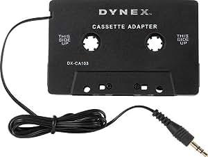 Dynex Cassette Adapter
