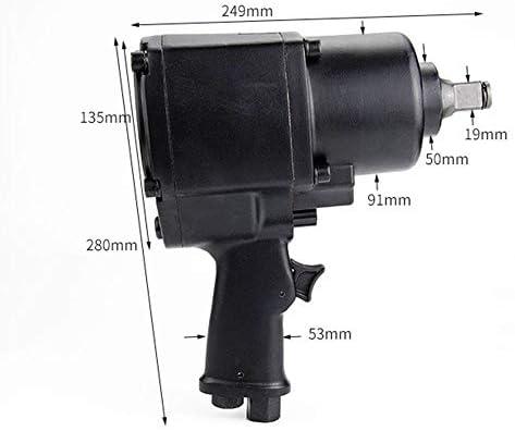 Grosses Soldes Outil pneumatique Qualité industrielle pneumatique Clé, 3/4 double marteau vent Trigger  dpR7z