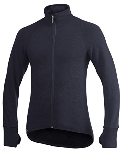 Woolpower Unisex Full Zip Jacket 600 DARK NAVY XL