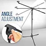 Pyle Foldable Tripod Microphone Stand - Universal