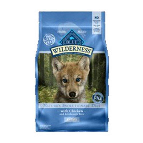 BLUE Wilderness Puppy Grain Free Chicken Dry Dog Food 11-lb
