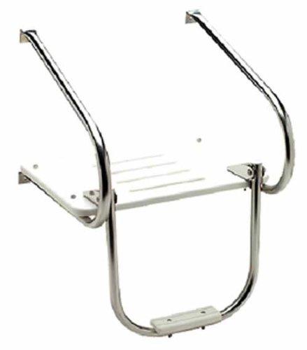 Seachoice Inboard / Outboard Poly Swim Platform with Step - Poly Swim Platform