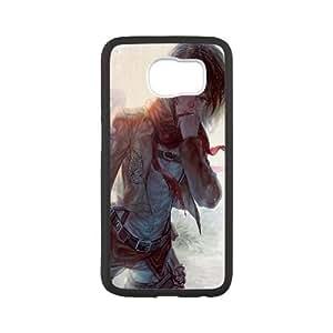 Mikasa Ackerman Attack On Titan Anime3 Samsung Galaxy S6 Cell Phone Case Black persent xxy002_6871662