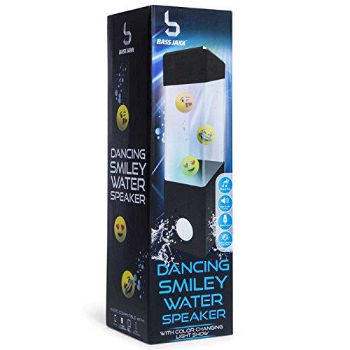 Emoji dancing color changing light show water speaker usb power