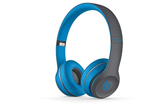 Solo2 Wireless HD Sound Bluetooth On-Ear Headphones Wireless Blue And Gray