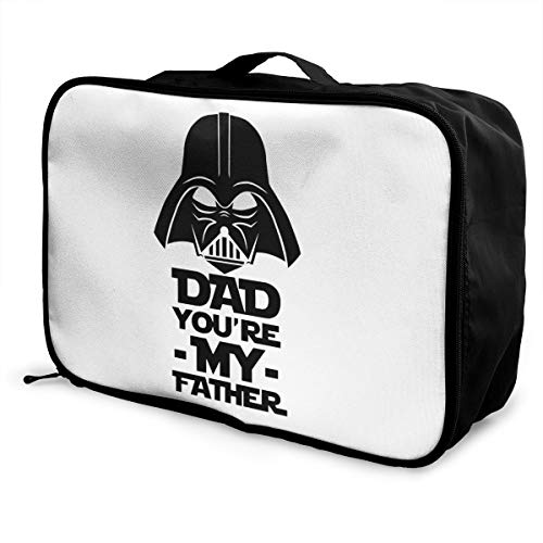 My Daddy Is A Firefighter Lightweight Large Capacity Portable Luggage Bag Fashion Travel Duffel Bag