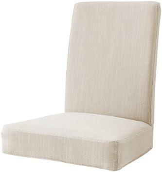 Ikea HENRIKSDAL Nolhaga Housse de Chaise Beige Clair: Amazon