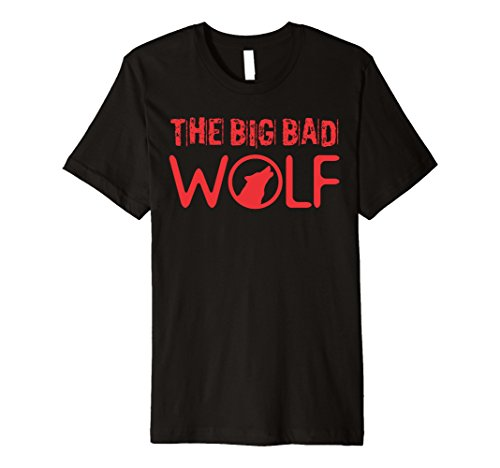 Mens Wolf (Big and Bad) Gift Halloween Costume Idea A-Type 2XL Black