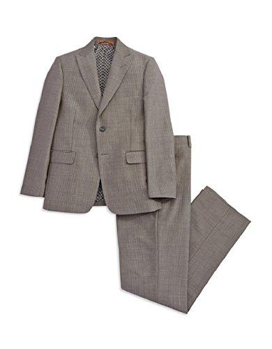 TALLIA Orange Pinstriped Blazer & Pants Set (20R, Grey)