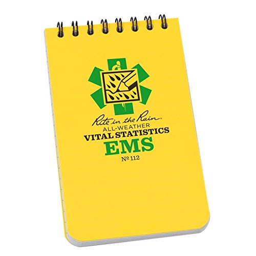 """All-Weather EMS Pocket Notebook 3"""" x 5"""" - 112"""