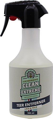 CLEANEXTREME Auto Teerentferner 500 ml - Reiniger zum Entfernen von Teer und Teerflecken CLEANCOMPANY Systemzentrale GmbH