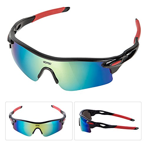 GOTSC Polarized Sports Sunglasses for men women Cycling running driving Baseball Fishing Golf Superlight Frame – DiZiSports Store