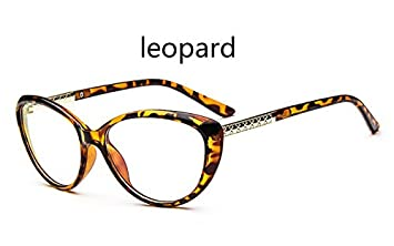 a15a02600d72 Image Unavailable. Image not available for. Colour  BuyWorld 2018 New Brand  Women Optical Glasses Spectacle Frame Cat Eye Eyeglasses Anti-Fatigue  Computer