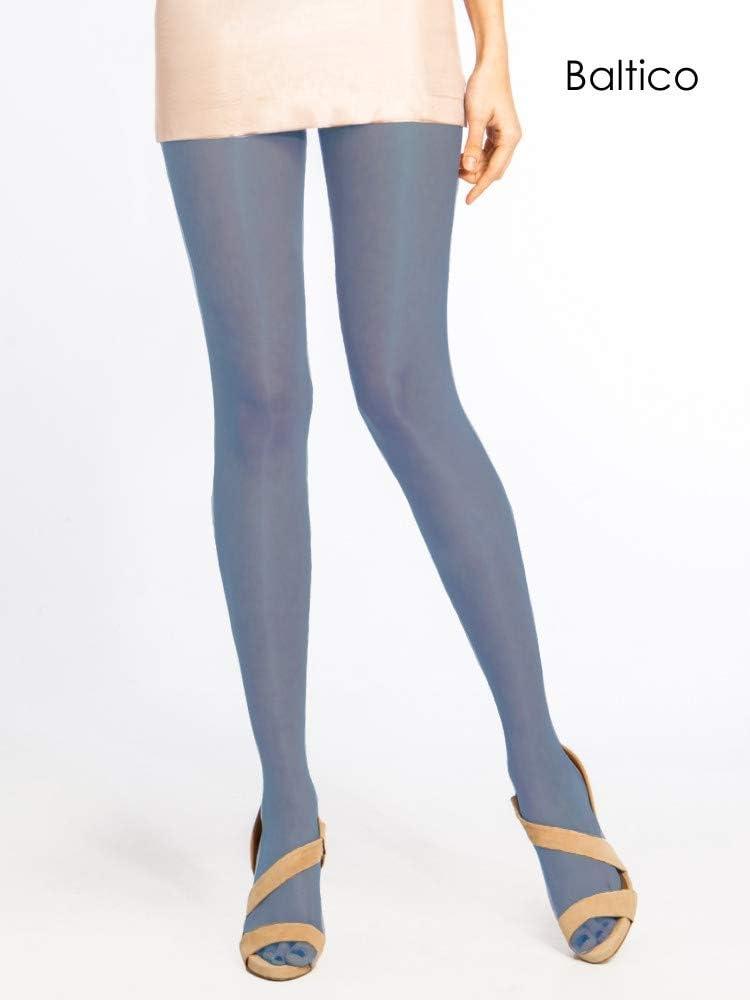 Cecilia De Rafael Vidrio Shine High Gloss Tights Pantyhose Large Size 4