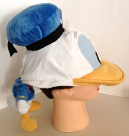 Amazon.com  Disney Park Plush Donald Duck Doll Adult Cap Hat New  Toys    Games e537b81b3443