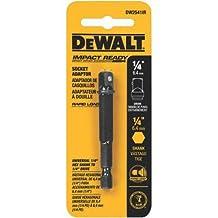 DEWALT DW2541IR 1/4-Inch Hex To 1/4-Inch Square Impact Ready Socket Adaptor