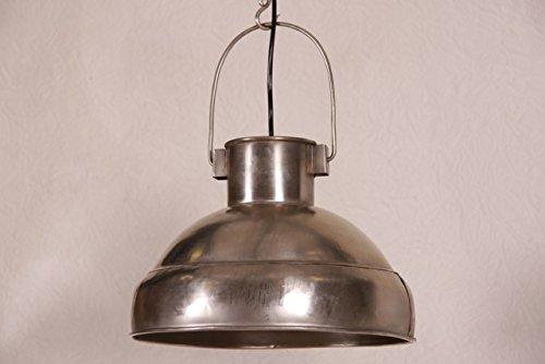 Casa Padrino pendant lamp ceiling lamp antique style nickel finish Industrial Design Vintage 33cm diameter - industrial lamp hanging lamp