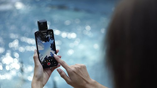 Insta360 Nano S -- 360 VR Camera, 4K HD 360 Degree Video Camera, Lifestyle Camera, 20MP Photos for iPhone X, iPhone 8 series, iPhone 7 series, iPhone 6 series - Retail