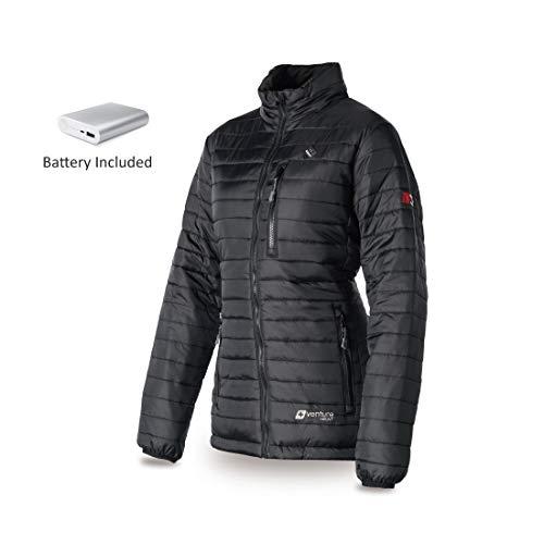 VentureHeat Venture Women's Heated Insulate Jacket (Black, Medium)